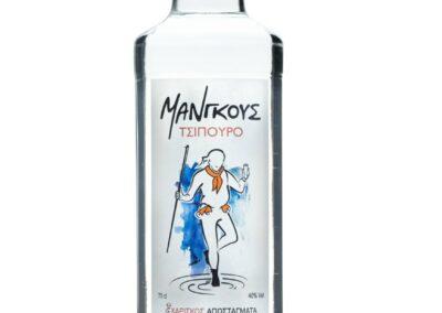 Τσίπουρο Μάνγκους - 700 ml 40% vol.
