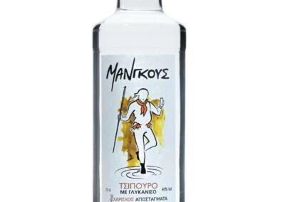 Τσίπουρο Μάνγκους με γλυκάνισο - 700 ml 42% vol.