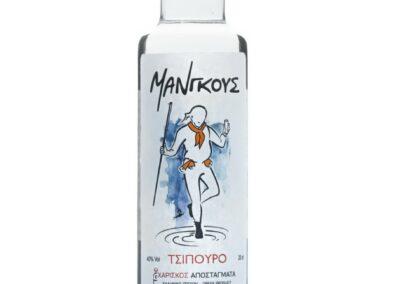 Τσίπουρο Μάνγκους - 200 ml 40% vol.