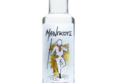 Τσίπουρο Μάνγκους με γλυκάνισο - 200 ml 42% vol.